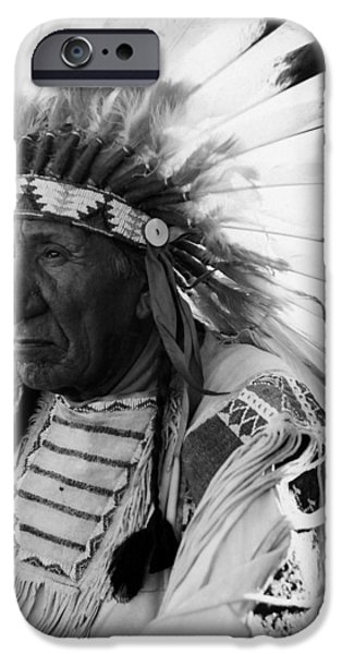 American History iPhone Cases - Chief Red Cloud iPhone Case by War Is Hell Store
