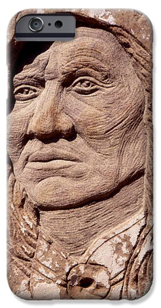 Chief-Washakie iPhone Case by Gordon Punt