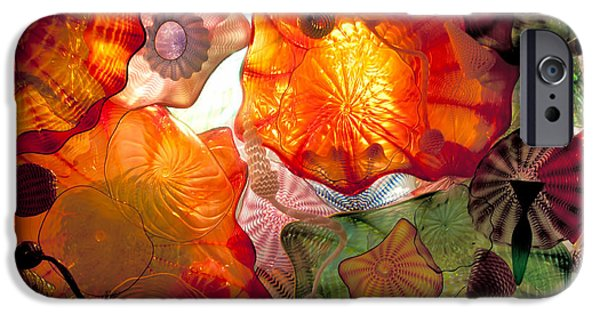 Science Collection - iPhone Cases - Chihulys Seaform Pavilion At Night iPhone Case by Mark Newman