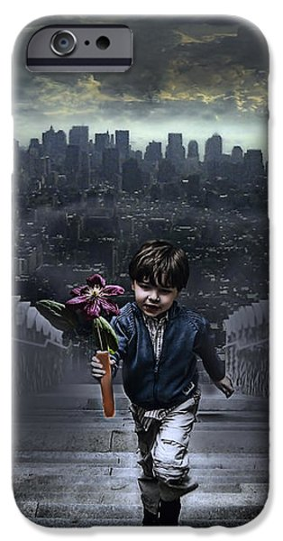 Child of New York iPhone Case by Joachim G Pinkawa