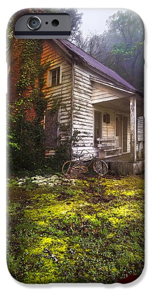 Tennessee Barn iPhone Cases - Childhood Dreams iPhone Case by Debra and Dave Vanderlaan
