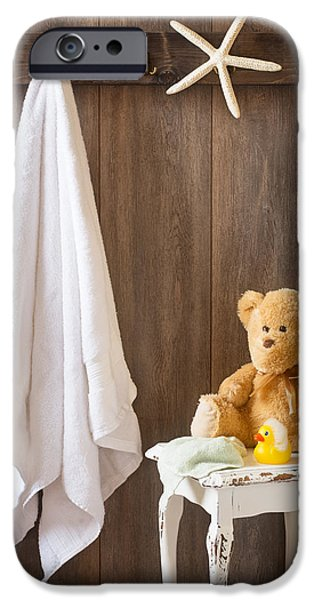 Bathroom iPhone Cases - Childrens Bathroom iPhone Case by Amanda And Christopher Elwell