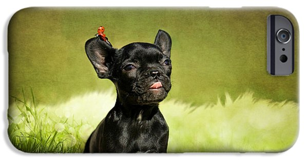 Animal Photography Mixed Media iPhone Cases - Childrens picture iPhone Case by Heike Hultsch