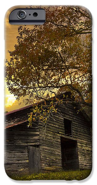 Chill of an Early Fall iPhone Case by Debra and Dave Vanderlaan
