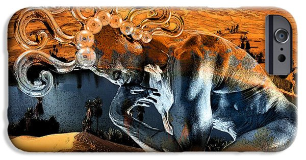 Altered iPhone Cases - Chimera  iPhone Case by Marian Voicu