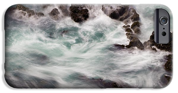 Marine iPhone Cases - Chimerical Ocean iPhone Case by Heidi Smith