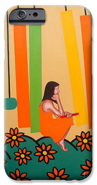 Recently Sold -  - Figures iPhone Cases - Chimes iPhone Case by Patrick J Murphy