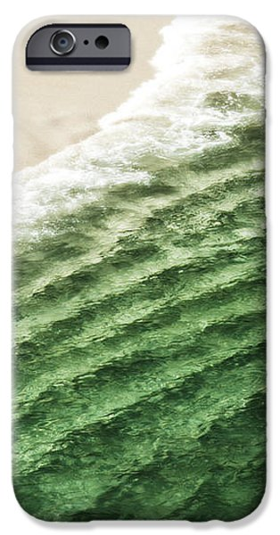 China Beach Wave iPhone Case by Artist and Photographer Laura Wrede