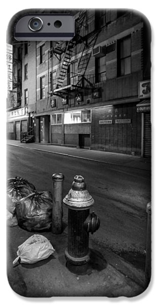 Chinatown New York City - Joe's Ginger on Pell street iPhone Case by Gary Heller
