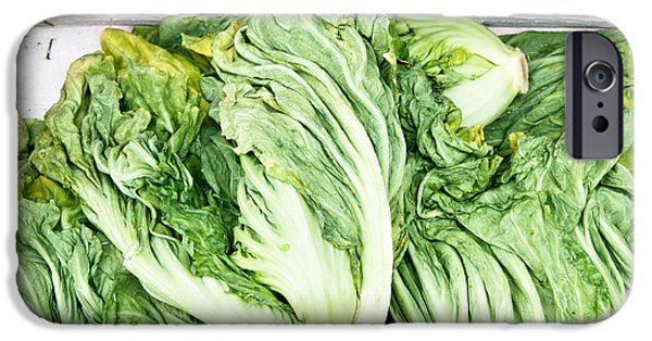 Chinese Market iPhone Cases - Chinese cabbage iPhone Case by Tom Gowanlock