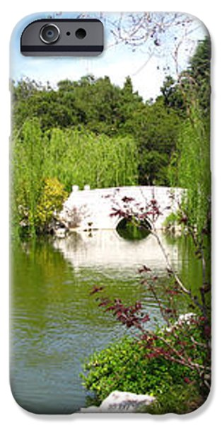 Chinese Gardens iPhone Case by Bedros Awak