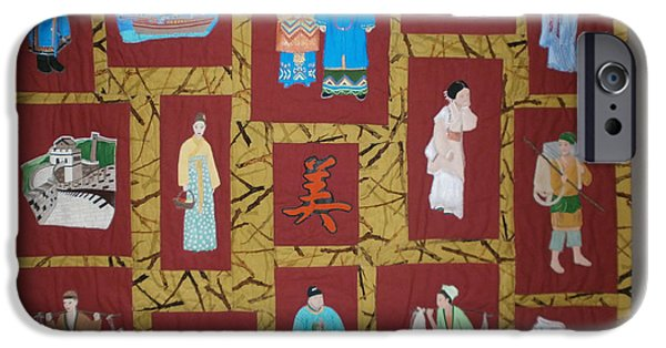 One Tapestries - Textiles iPhone Cases - Chinese Heritage iPhone Case by Linda Egland