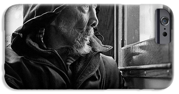 Candid Photographs iPhone Cases - Chinese Man iPhone Case by Dave Bowman
