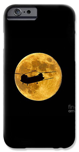 Chinook Moon Color iPhone Case by Al Powell Photography USA