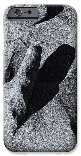 Chiseled by the Wind iPhone Case by Mike  Dawson