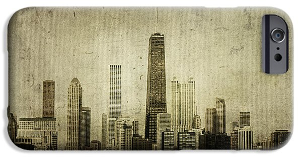 60s Photographs iPhone Cases - Chitown iPhone Case by Andrew Paranavitana