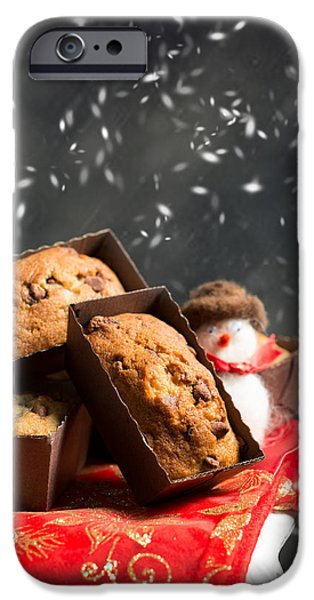 Chip iPhone Cases - Choc Chip Muffins iPhone Case by Amanda And Christopher Elwell
