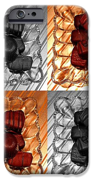 Chocolates iPhone Case by Barbara Griffin