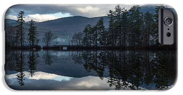 Mt Chocorua iPhone Cases - Chocorua Lake iPhone Case by Sharon Seaward