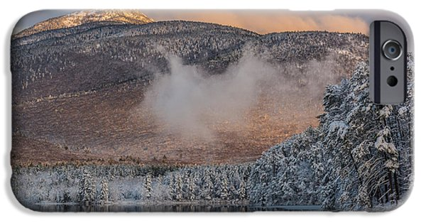 Mt Chocorua iPhone Cases - Chocorua on Thanksgiving iPhone Case by Greg Kretschmar