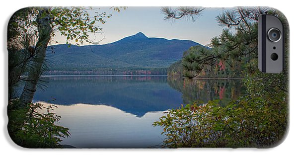Mt Chocorua iPhone Cases - Chocorua Refletion iPhone Case by Scott Thorp