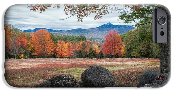 Mt Chocorua iPhone Cases - Chocorua iPhone Case by Scott Thorp