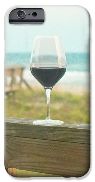 Choices at the Beach iPhone Case by Kay Pickens