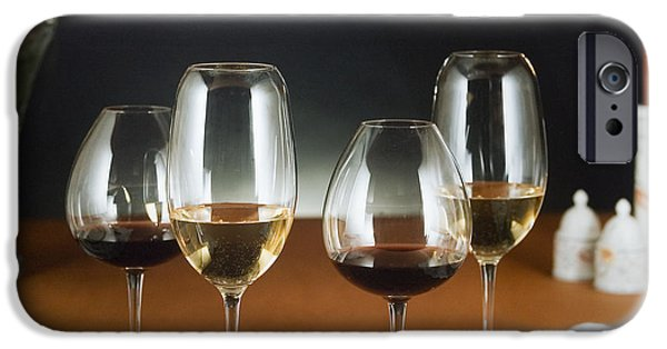 Table Wine iPhone Cases - Choices  iPhone Case by Jerry McElroy