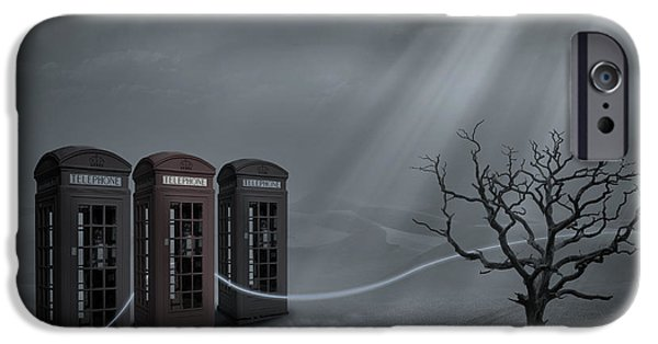 Dr Who iPhone Cases - Choices iPhone Case by Keith Kapple