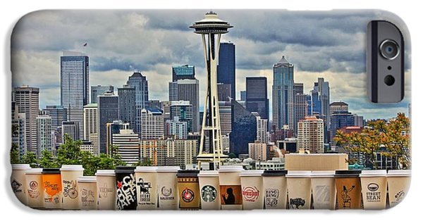 Seattle iPhone Cases - Choose Your Brew iPhone Case by Benjamin Yeager