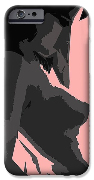 Google Mixed Media iPhone Cases - Chose Assez Sexy . iPhone Case by Sir Josef Putsche
