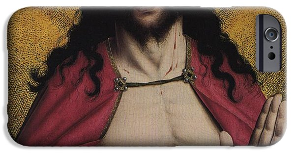 Book Of Daniel iPhone Cases - Christ Crowned with Thorns iPhone Case by American Classic Visions Gallery