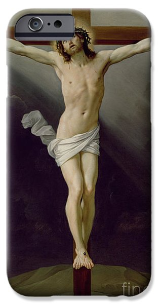 Gospel iPhone Cases - Christ on the Cross iPhone Case by Guido Reni
