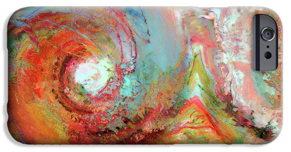 The Beginning iPhone Cases - Christian Art- The Beginning. Genesis 1 1 iPhone Case by Mark Lawrence