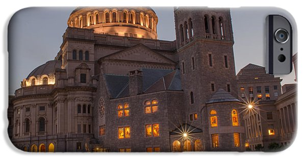 Best Sellers -  - Boston Ma iPhone Cases - Christian Science Center 2 iPhone Case by Mike Ste Marie