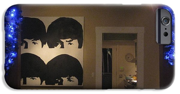 Beatles iPhone Cases - Christmas 42 iPhone Case by Michael Anthony