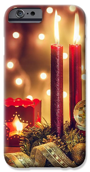 Ambiance iPhone Cases - Christmas Ambiance iPhone Case by Carlos Caetano