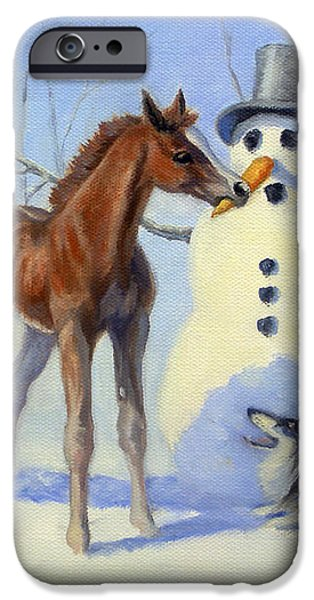 Christmas Bounty iPhone Case by Jeanne Newton Schoborg