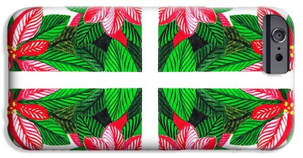 Christmas iPhone Cases - Christmas Gift iPhone Case by Irina Sztukowski