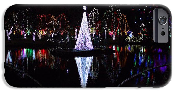Christmas Eve iPhone Cases - Christmas In Ohio iPhone Case by Dan Sproul