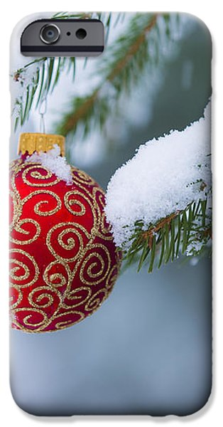 Christmas Ornament iPhone Case by Diane Diederich