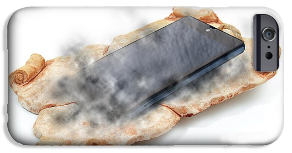 Multimedia iPhone Cases - Chronology of communication iPhone Case by Sinisa Botas