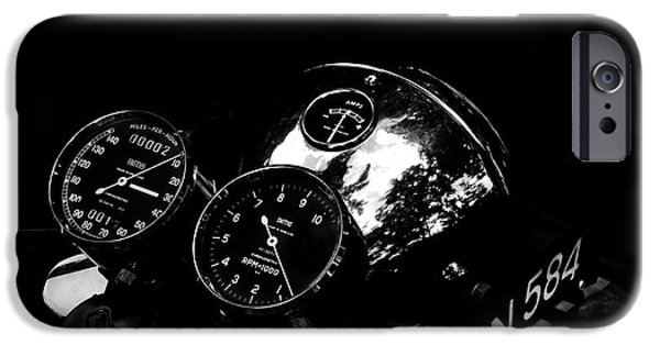 Racer iPhone Cases - Chronometric iPhone Case by Mark Rogan
