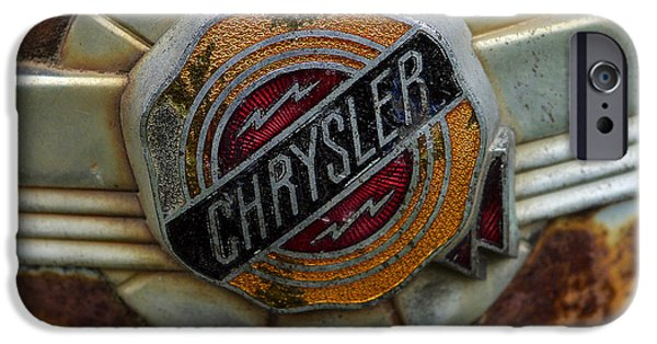Ignored iPhone Cases - Chrysler iPhone Case by Jean Noren