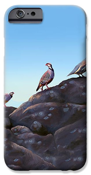 Chuckers - Calling in the Flock iPhone Case by Laird Roberts