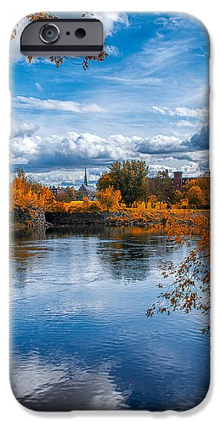 Church Across The River iPhone Case by Bob Orsillo