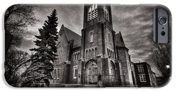 Gothic iPhone Cases - Church Gothic iPhone Case by Ian MacDonald