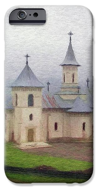 Church in the Mist iPhone Case by Jeff Kolker