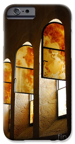 Loaves And Fish iPhone Cases - Church of Heptapegon in Israel iPhone Case by Eva Kaufman