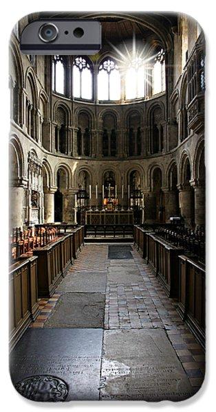 St Elizabeth iPhone Cases - Church of St Bartholomew the Great iPhone Case by Stephen Stookey